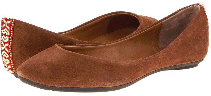 Steve Madden P-Heavnl (Cognac Suede) - Footwear
