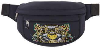 Kenzo Grey Limited Edition Dragon Tiger Bum Bag