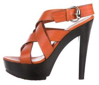 92241726baa2 Gucci Crossover Straps Women s Sandals - ShopStyle