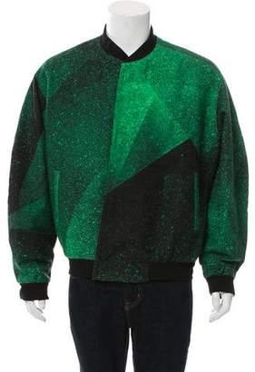 Balenciaga Colorblock Bomber Jacket w/ Tags