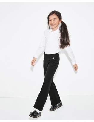 Next Girls Black Chunky Fringe Loafers (Older)