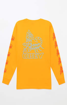 Obey Scorpion Rose Long Sleeve T-Shirt