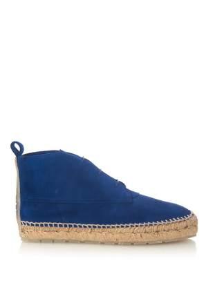 Balenciaga Desert suede boots