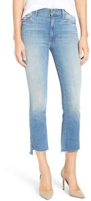 Mother 'The Insider' Crop Step Fray Jeans