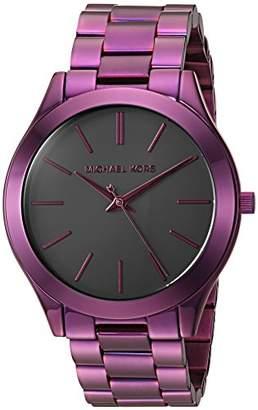 Michael Kors Women's 'Slim Runway' Quartz Stainless Steel Casual Watch