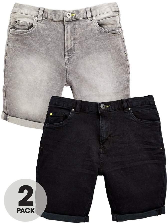 2pk Denim Shorts