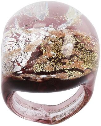 Murano Glass Multi-Colored Bold Ring