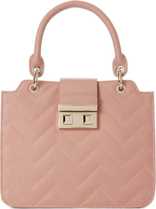 Furla Bella Small Quilted Leather Tote