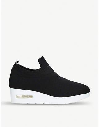 DKNY Angie wedge-heel sock trainers