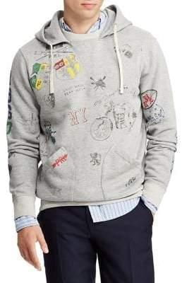Polo Ralph Lauren Graphic Fleece Hoodie