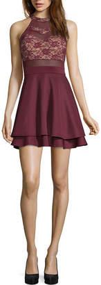 EMERALD SUNDAE Emarld Sundae Sleeveless Bodycon Dress-Juniors