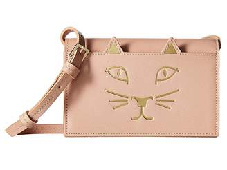 Charlotte Olympia Feline Purse Wallet Handbags