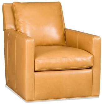 Bradington-Young Jaxon Swivel Tub Chair 8-Way Tie