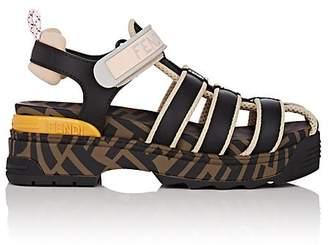 Fendi Women's Zucca-Print Sandals