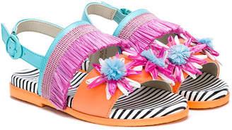 Sophia Webster Mini fringe sandals