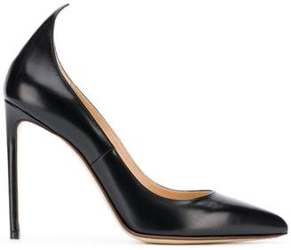 Francesco Russo pointed heel pumps