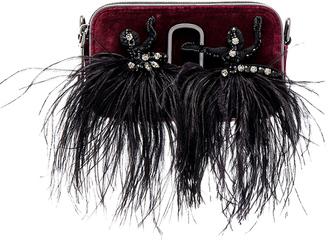 Marc Jacobs Snapshot Velvet Small Camera Bag $495 thestylecure.com