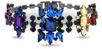 Steve Madden Casted Stone Star Link Bracelet
