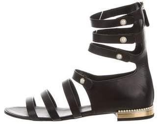 Chanel Pearl Multistrap Sandals