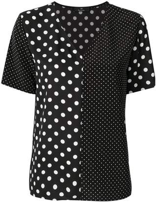 Paul Smith polka dot blouse