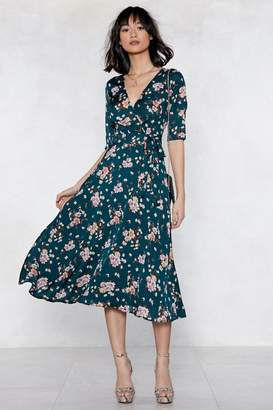 Nasty Gal Grow With Me Floral Dress