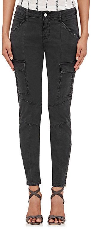J BrandJ Brand Women's Houlihan Cargo Jeans-Dark Grey
