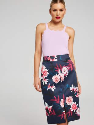Portmans Australia Bright Blooms Sateen Skirt