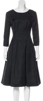 Jason Wu Jacquard A-Line Dress