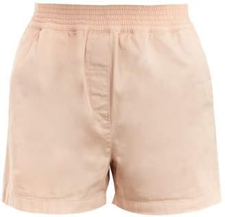 Acne Studios Marit high-rise cotton shorts