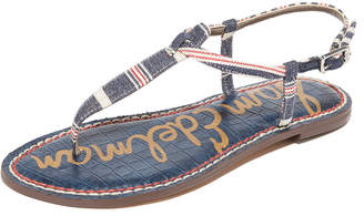 Sam Edelman Gigi Striped Sandals $60 thestylecure.com