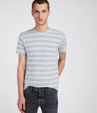 AllSaints Hall Stripe Crew T-Shirt