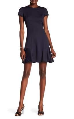 Rachel Roy Lace Back Short Sleeve Dress
