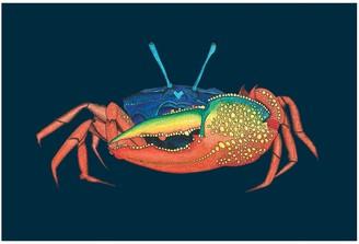 Wilful Ink Crab Tea Towel
