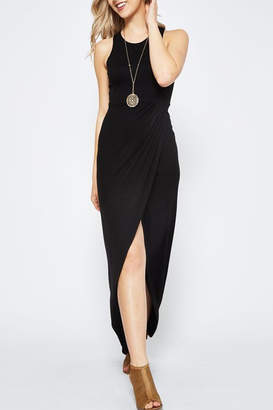 Wild Lilies Jewelry Black Midi Dress