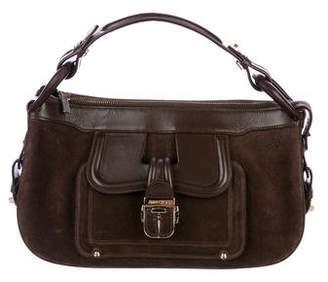 Jimmy Choo Leather & Suede Tahula Shoulder Bag