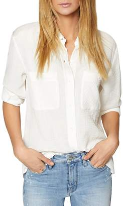 Sanctuary Steady Boyfriend Textured Shirt