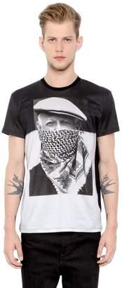 Neil Barrett Picasso Printed Cotton Jersey T-Shirt