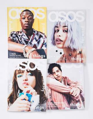 Asos MAGAZINE Spring Issue featuring Maisie Williams + Cole Sprouse + J Hus + Jorja Smith