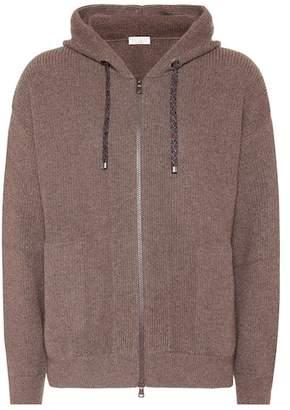 Brunello Cucinelli Cashmere-blend hoodie