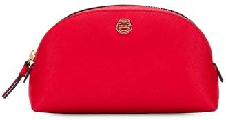 Tory Burch Robinson Small saffiano-leather make-up pouch