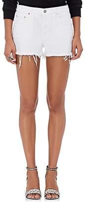 GRLFRND Women's Karlie Denim Cutoff Boyfriend Shorts