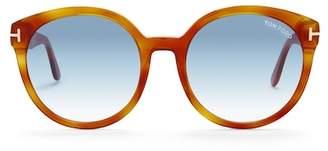 Tom Ford 55mm Oversized Sunglasses