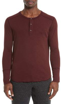 WINGS AND HORNS Base Long Sleeve Henley