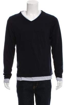 Scotch & Soda Layered V-Neck Sweater