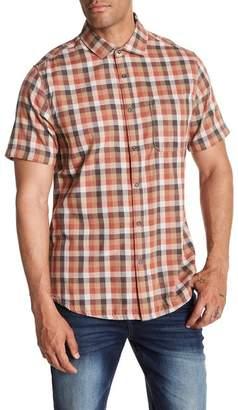 Jeremiah Nomad Reversible Plaid Short Sleeve Shirt