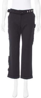 Preen by Thornton Bregazzi Preen Wool Mid-Rise Pants