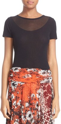 Women's Fuzzi Double Layer Tulle Top $195 thestylecure.com