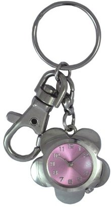 Crepha (クレファー) - [クレファー]CREPHA 懐中時計 フラワー型ポケットウォッチ アナログ表示 3気圧防水 ピンク BAS-4060-PK