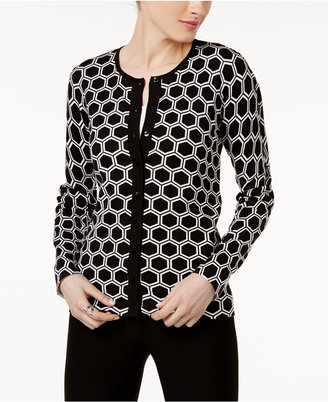 August Silk Printed Cardigan $36.98 thestylecure.com
