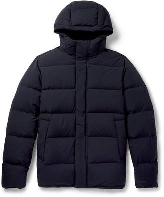 Norse Projects Willum Quilted Shell Hooded Down Jacket